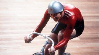 Sports: Didier Plaschy et le champion olympique de Chippis