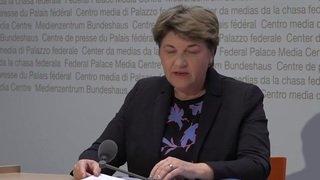 Resumé de la Conférence de presse du Conseil fédéral sur la proclamation de l'état d'urgence