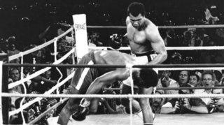 Sports: Jean-Claude Donzé debout au milieu de la nuit pour Mohamed Ali