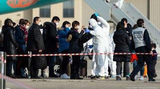 Coronavirus: cinq Suisses rapatriés, une vingtaine de personnes en quarantaine