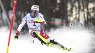 Daniel Yule voit le globe du slalom s'envoler