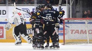 Hockey: Fribourg a un patin en play-off, Lausanne perd à la maison et Genève bat le leader