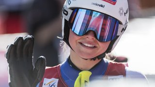 Ski alpin: Corinne Suter termine 3e du Super-G à La Thuile, remporté par Nina Ortlieb