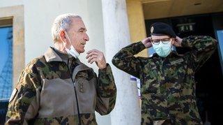 Coronavirus: l'armée suisse compte 128 cas de personnes positives