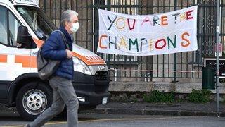 Coronavirus: la hausse des cas n'a jamais été aussi faible en Italie