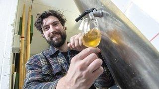 Montana: passionné par les petites bulles, il se lance dans la production d'un cidre 100% local