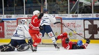 Hockey: HCV Martigny était là pour jouer, Lyss pour frapper