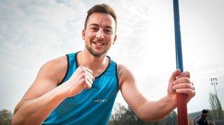 Athlétisme: Laurent Carron a gagné un mètre en une année au javelot