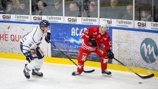 Hockey: le HCV Martigny, très facile à Lyss, file vers la finale