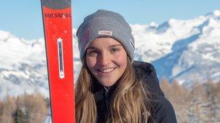 Ski alpin: Charlotte Lingg, seule athlète de Ski Valais sélectionnée