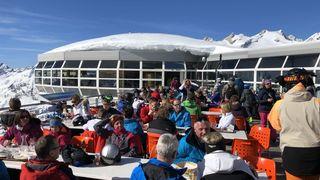 Tournée #enpistes à Aletsch Arena, Panorama-restaurant Bettmerhorn 22.02.2020