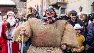 Le carnaval d'Evolène en images
