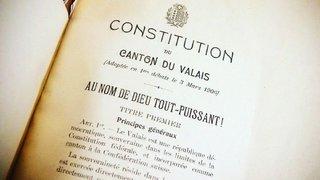 Les jeunes Valaisans appelés à donner leur avis sur la Constitution