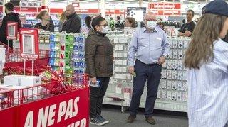 Fermeture des commerces face au coronavirus: le jour d'avant