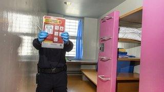 Coronavirus: les prisons valaisannes se barricadent