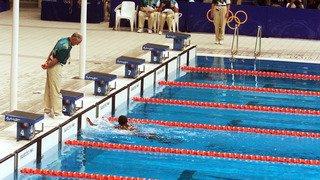 Sports: Katia Clément scotchée devant le rêve olympique d'Eric Moussambani