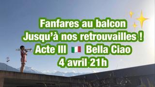 Coronavirus: l'hymne national fait un carton en Valais grâce à Fanfares au balcon