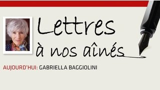 Coronavirus: la lettre aux aînés de Gabriella Baggiolini
