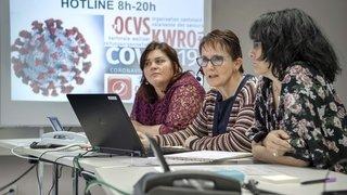 Coronavirus: la hotline valaisanne prise d'assaut