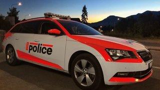 Une deuxième grosse opération menée par la police en Valais