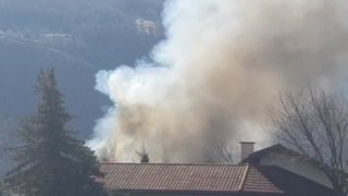 Important incendie à Martigny