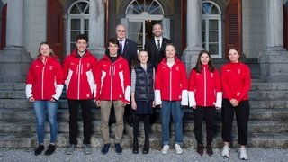 Les neuf athlètes valaisans de Lausanne 2020 honorés par le Canton