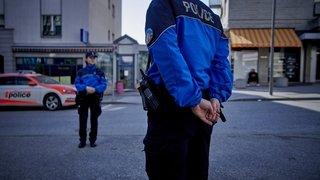 Coronavirus: pas de masque pour les patrouilles de police