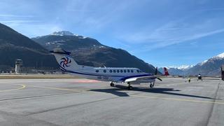 Vols commerciaux: le Valais et la Corse à nouveau liés par les airs