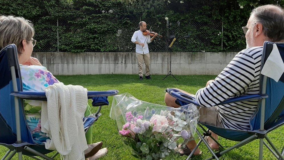 Les prestations musicales privées ont été fortement appréciées ce week-end.