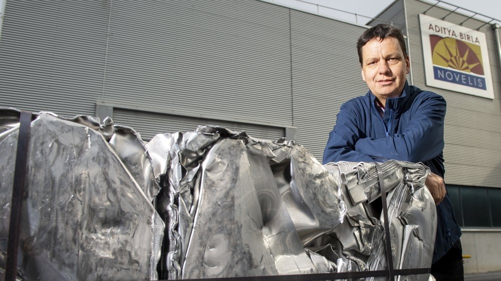 Serge Gaudin a été nommé vice-président Metal Management & Recycling de Novelis Europe en avril.