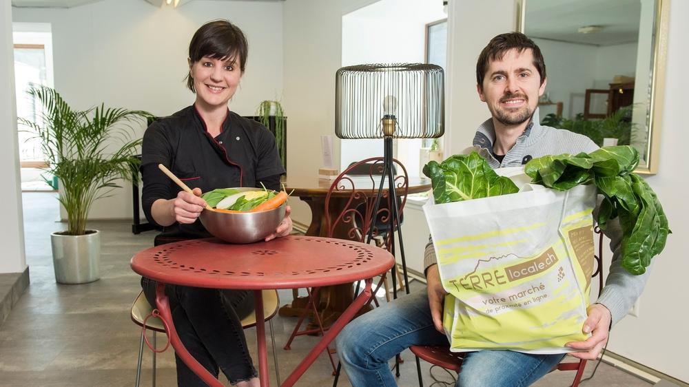 Manon Brugnolo et Frédéric Gomez inaugureront leurs locaux une fois la crise sanitaire passée. En attendant, ils trouvent des solutions.