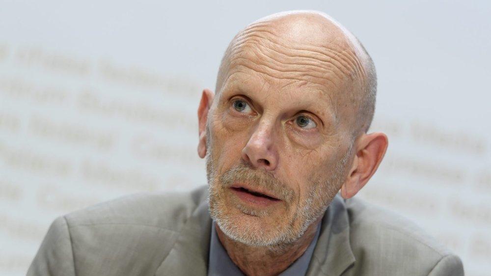 Daniel Koch, Le Monsieur coronavirus de la Suisse,  hier à Berne.