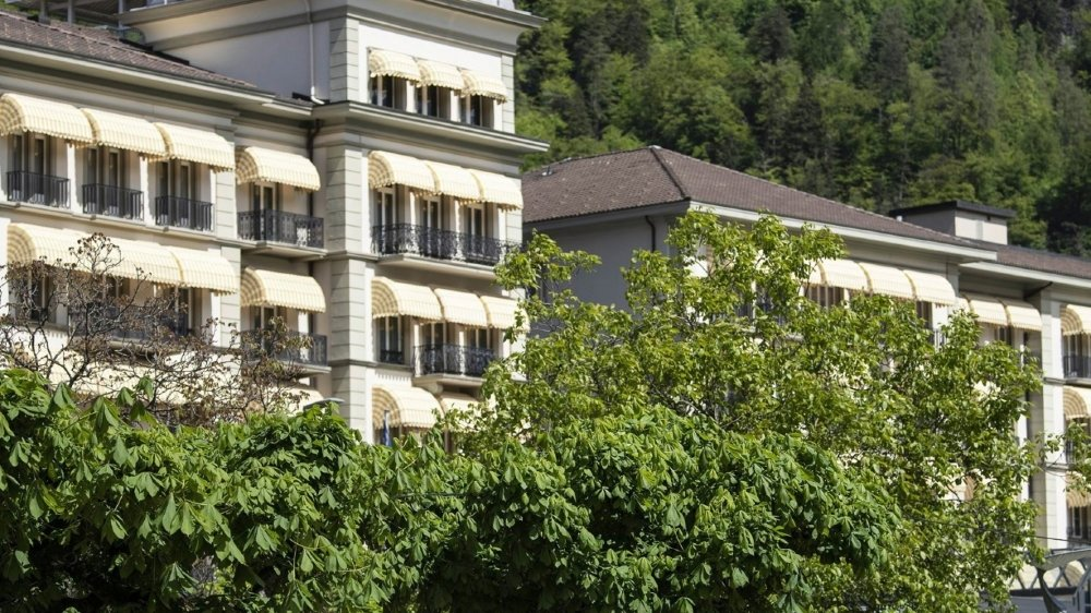 Ce ne sont ni les entreprises ni les ménages qui vont financer, seuls, la reprise espérée de l'économie - mise à mal par le coronavirus, à l'image de l'hôtellerie (ici le Grand Hôtel Victoria, à Interlaken).