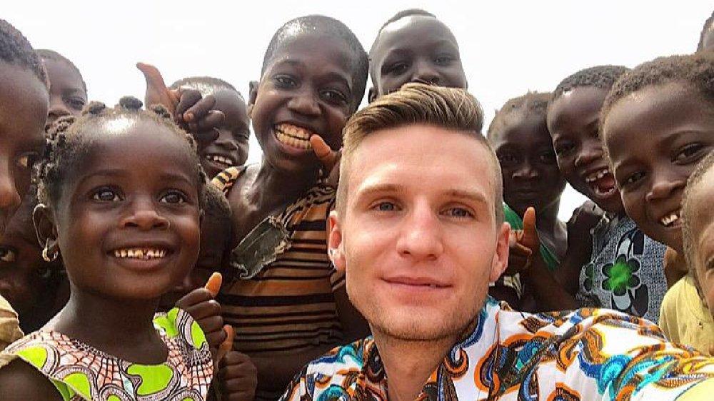Samuel Sauthier, 26 ans, est établi à Abidjan depuis trois ans.