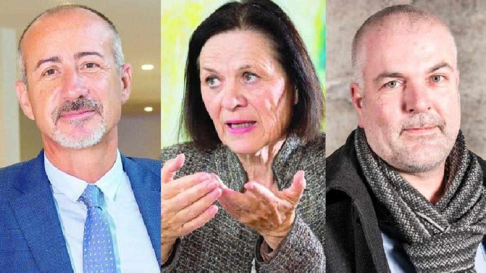 Pascal Rubin, Esther Waeber-Kalbermatten et Olivier Turin donnent leur point de vue sur le déficit de l'HRC.
