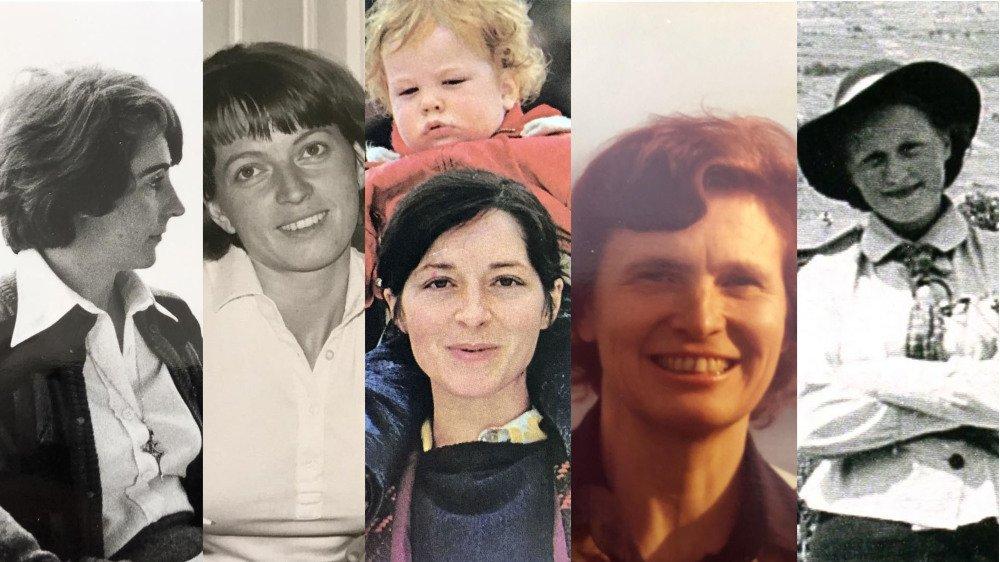 Liliane Varone, journaliste, Françoise Gianadda, avocate, Gabrielle Nanchen, licenciée en sciences sociales, Inès Spahr, pédiatre et Marie-Jo de Torrenté, bibliothécaire.