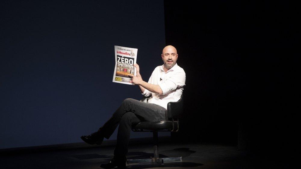 Frédéric Recrosio prend une année sans revue pour souffler et réfléchir à comment consolider et faire évoluer son concept.
