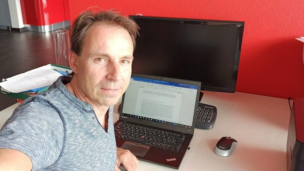 Christophe Spahr, responsable des sports au «Nouvelliste».
