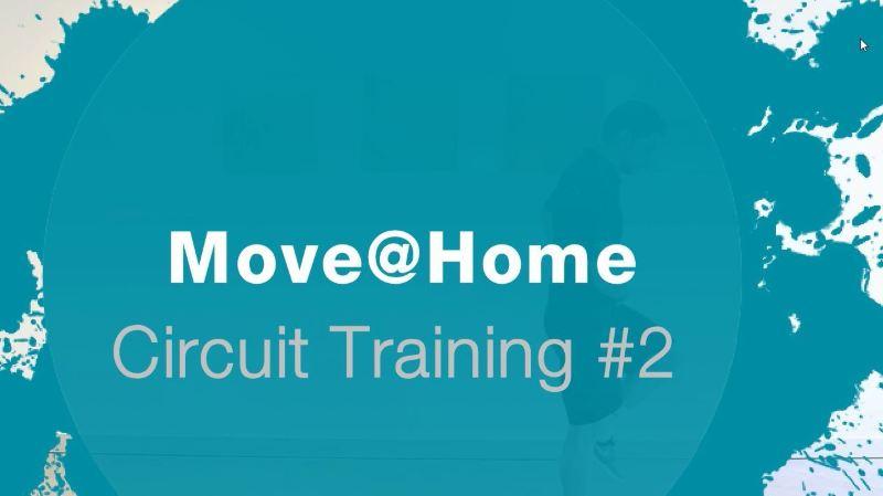 Un deuxième circuit training pour boucler notre rendez-vous sportif qui a commencé au mois de mars.