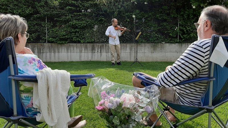 Dans l'jardin: des notes qui font du bien au public et aux musiciens