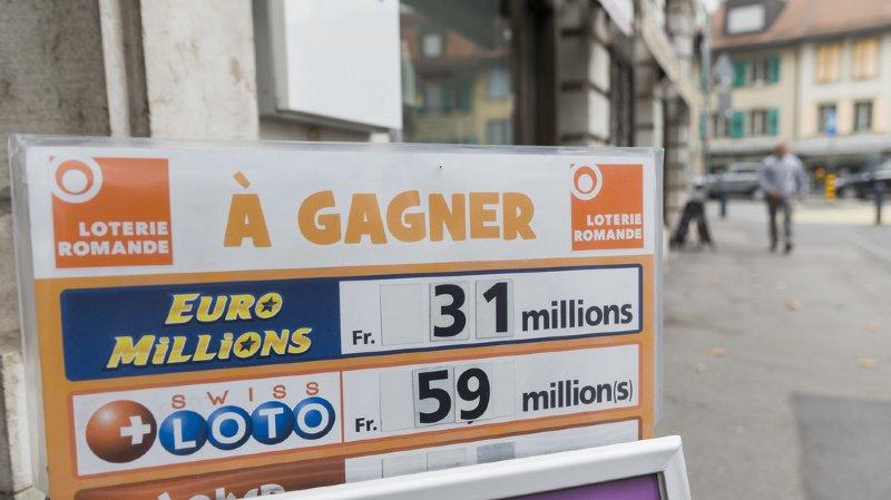Le montant en jeu lors du prochain tirage s'élève à 3 millions de francs. (illustration)