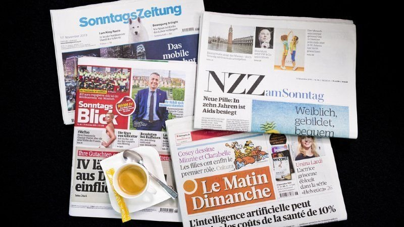 Revue de presse: un Conseil fédéral trop hésitant, exportation de masques ou cas de racisme en hausse… les titres de ce dimanche