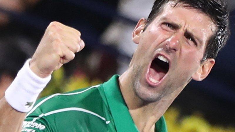 Novak Djokovic figure aujourd'hui à la troisième place du classement des joueurs ayant occupé le trône de l'ATP le plus longtemps (ILLUSTRATION).