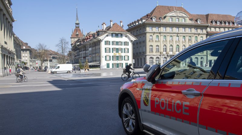 Berne: en fort excès de vitesse, sans permis et avec une voiture volée