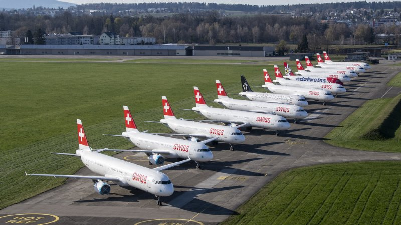 Coronavirus: la compagnie Swiss devra se séparer d'une partie de sa flotte