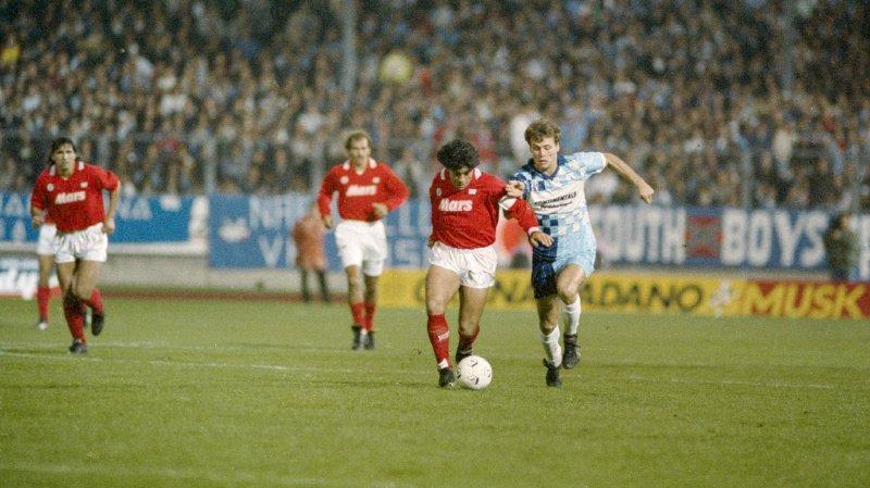 Football – Les grandes soirées des clubs suisses: le FC Wettingen volé à Naples en 1989
