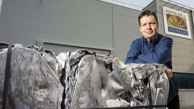 Aluminium: le Valaisan Serge Gaudin devient l'expert du recyclage chez Novelis Europe