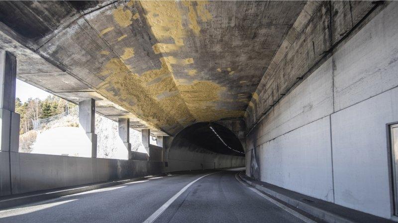 A9 Simplon: le tunnel de Schallberg en travaux jusqu'à fin juillet