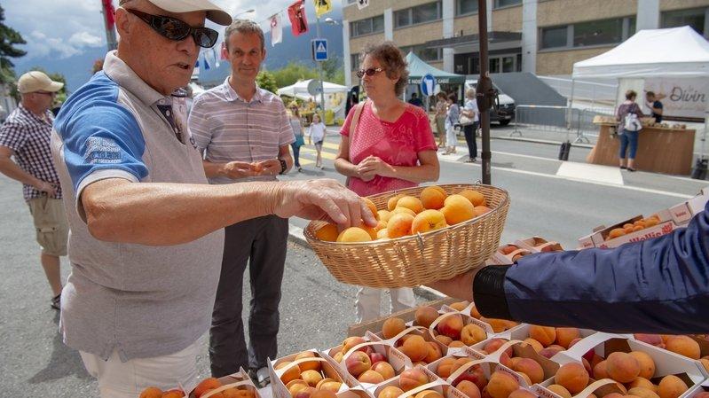 Coronavirus: la fête de l'abricot à Saxon n'aura pas lieu cette année