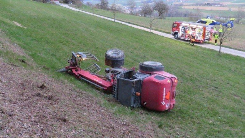 Mort du conducteur d'un convoi agricole